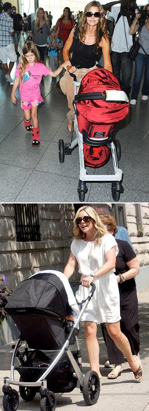 "Denise Richards Uses $900 Eco-Friendly Stroller With ""Paparazzi Shield"""