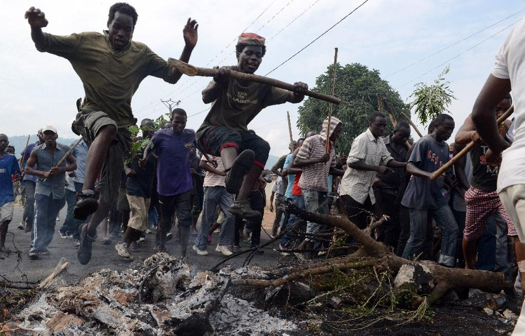 Burundi government denounces 'terrorists', vows to stop protests
