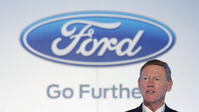 Mulally says no change in plan to stay as Ford CEO