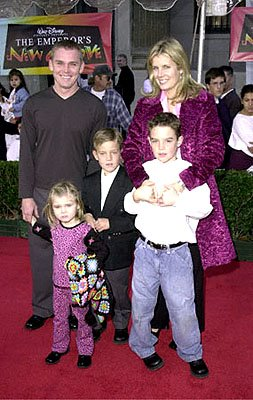 Premiere: The Rick Schroder Posse at the Hollywood premiere of Walt Disney's The Emperor's New Groove - 12/10/2000