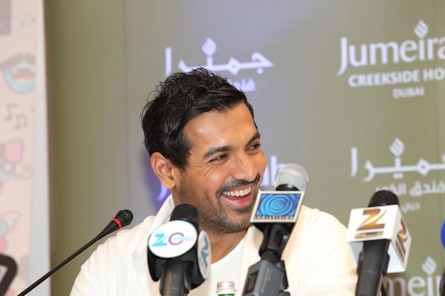 John Abraham plays the role of Manya Surve, an underworld mob boss in Mumbai. Sanish Cherian/Yahoo! Maktoob