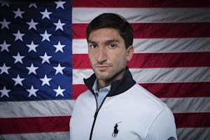 Olympic figure skater Evan Lysacek poses for a portrait during the 2013 U.S. Olympic Team Media Summit in Park City, Utah