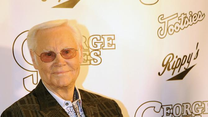 FILE:  Country Singer George Jones Hospitalized