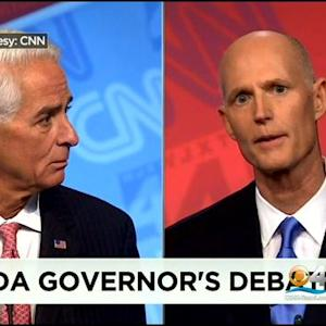 Final Florida Debate For Gov. Heated & Personal