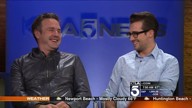David Arquette and James Maslow Come Together for `Sherlock Holmes`