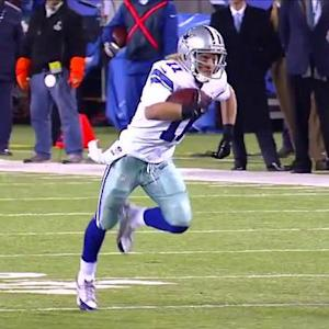 Dallas Cowboys wide receiver Cole Beasley 45-yard TD reception
