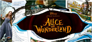 alice in wonderland ad on Yahoo