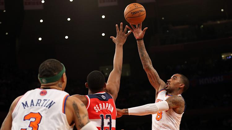 NBA: Washington Wizards at New York Knicks