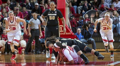 No. 14 Purdue women beat No. 25 Nebraska 69-66