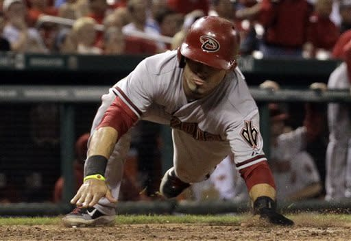 Goldschmidt's hit in 14th lifts Arizona over Cards