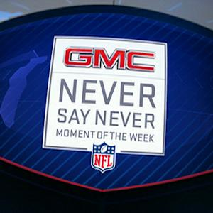 Week 14: GMC Never Say Never Moment nominees