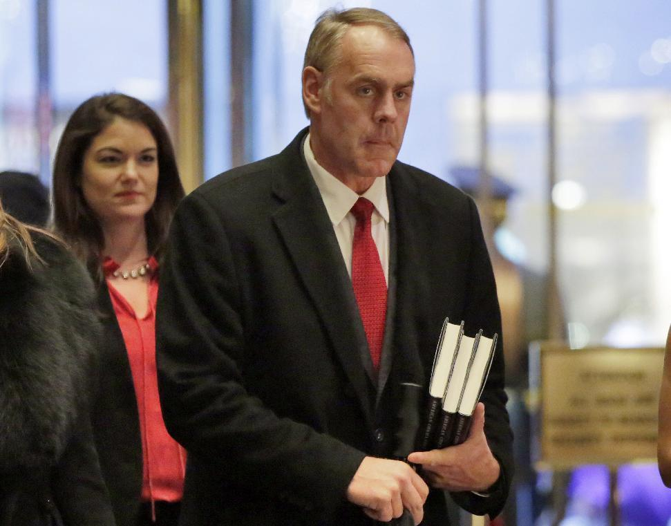 Interior nominee Zinke to be quizzed on public lands, coal