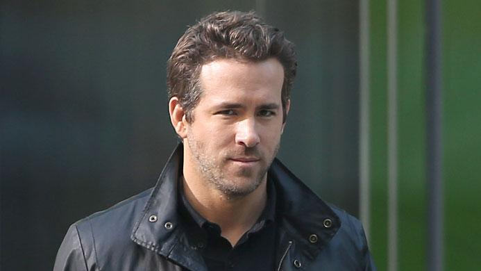 Spotted on Set, Ryan Reynolds
