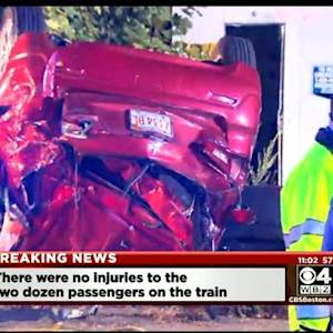 Woman Injured When Train Strikes Car In Acton
