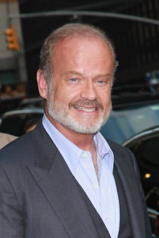 Kelsey Grammer departs &#39;Late Show with David Letterman&#39; at Ed Sullivan Theater, New York City, on August 20, 2012 -- Getty Images