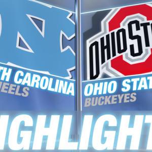 Ohio State vs North Carolina | 2014-15 ACC Men's Basketball Highlights