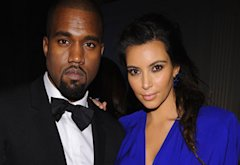Kayne West and Kim Kardashian | Photo Credits: Dimitrios Kambouris/WireImage