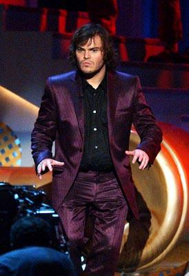Host Jack Black MTV Movie Awards 6/1/2002
