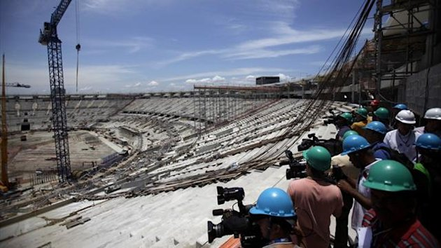 Maracana Stadium, which is undergoing renovations for the 2016 Olympic Games in Rio (Reuters)