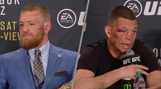 The UFC Is Having A Hard Time Convincing Nate Diaz To Fight Conor McGregor Again
