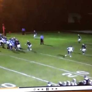 97 yard run back interception
