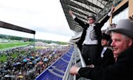 Race-goers celebrate at Royal Ascot in 2011. Black Caviar heads for quarantine on Sunday with connections of the crack Australian sprinter fully prepared for the fact that she may have run her last race