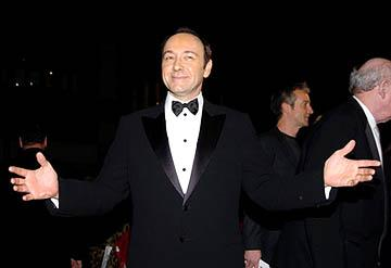 Kevin Spacey at the NY premiere of Lions Gate's Beyond the Sea