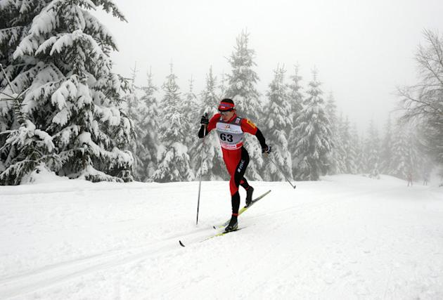 Poland's Justyna Kowalczyk Competes AFP/Getty Images