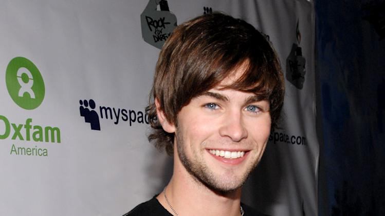 Chace Crawford of Gossip Girl at MySpace Presents Rock for Darfur Party Benefiting Oxfam America.
