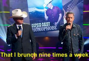 Stephen Colbert, Alan Cumming | Photo Credits: Comedy Central
