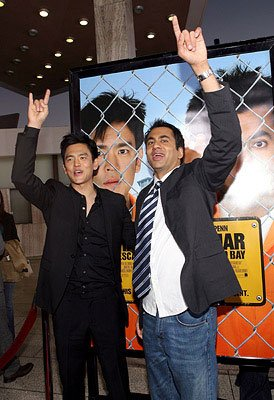 John Cho and Kal Penn at the Los Angeles premiere of New Line Cinema's Harold and Kumar Escape from Guantanamo Bay