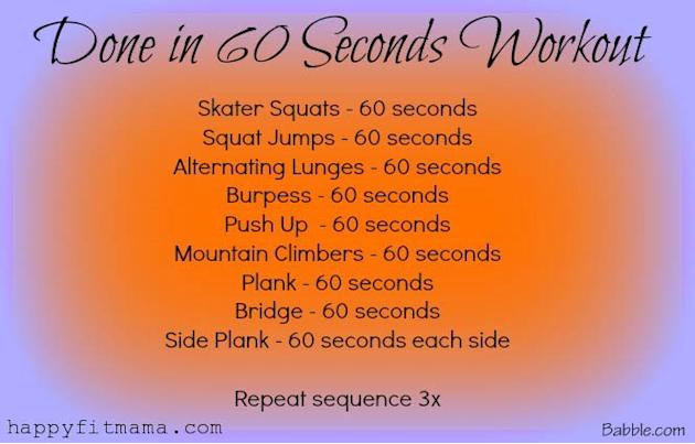 Done in 60 seconds