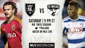 Real Salt Lake vs. FC Dallas | MLS Match Preview