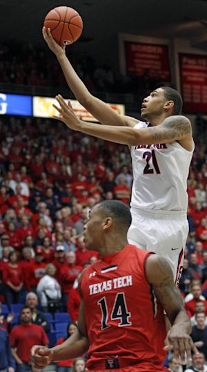 No. 2 Arizona beats Texas Tech 79-58