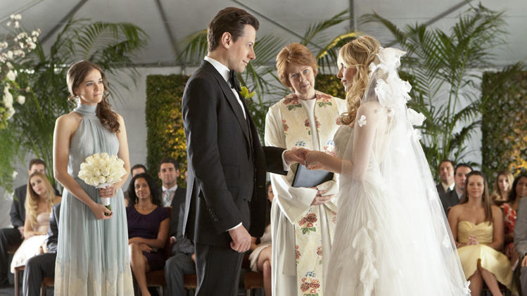 "TV Weddings - Bridget Kelly and Andrew Martin: ""Ringer"" (2012)"
