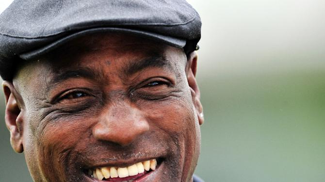 "Cricket great Viv Richards (pictured) has released a single with the drummer of Australian band INXS Jon Farriss, with ""Smokin' Joe"" featuring his deep tones that have been likened to Barry White"