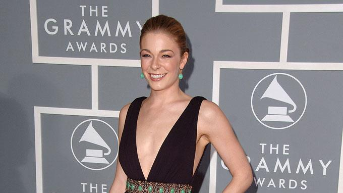 LeAnn Rimes at The 49th Annual Grammy Awards.
