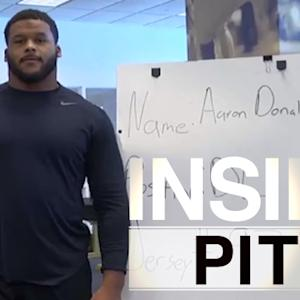 Inside: Pittsburgh | DT Aaron Donald Performs at Pitt Pro Day