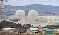 "Shin-Kori 3 and 4 reactors under construction at South Korea's Gori nuclear power plant in February. South Korea on Tuesday shut down two nuclear reactors and delayed the scheduled start of operations at two more, prompting government warnings of ""unprecedented"" power shortages"