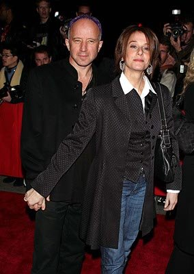 Arliss Howard and Debra Winger at the NY premiere of New Line's Birth