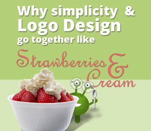 Why Simplicity and Logo Design Go Together Like Strawberries and Cream image why logo simplicity is like strawberries and cream
