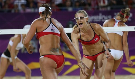 Final match for US volleyball duo ends in gold