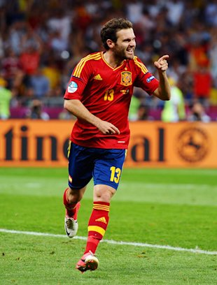Juan Mata of Spain (Getty)