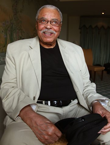 Actor James Earl Jones poses for photos in Sydney, Australia, Monday, Jan. 7, 2013. Jones and Angela Lansbury, in Australia to star in a touring production of Alfred Uhry&#39;s Pulitzer-Prize winning play &quot;Driving Miss Daisy,&quot; credit the thrill of performing with their seemingly endless supply of energy, which has propelled them throughout their decades-long careers. (AP Photo/Rick Rycroft)