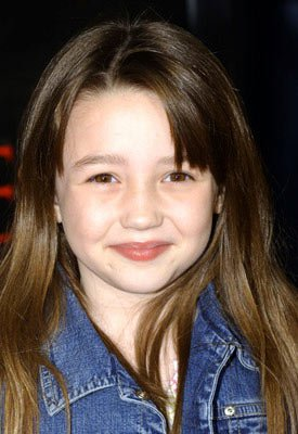 Isabel Conner at the Hollywood premiere of MGM's The Amityville Horror