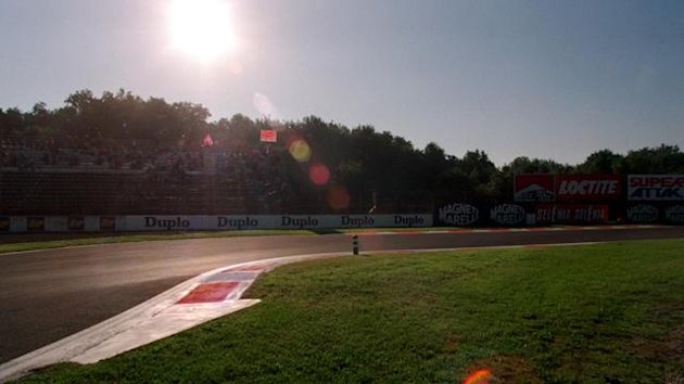 FORMULA 1. First chicane of Monza. Generic view