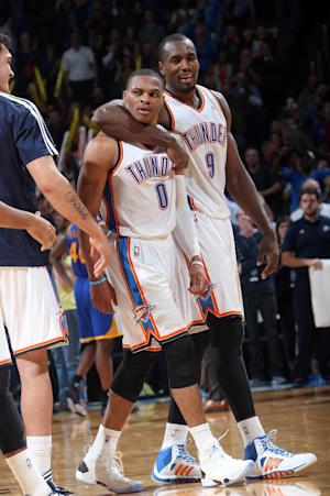 Westbrook's 3-pointer beats Warriors in OT