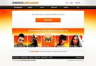 The home page of Megaupload.com, one of the largest file-sharing websites shut down by US authorities. A massive online piracy case against file-sharing website was &quot;flawed&quot; and likely to be dismissed in a US court within a month, the site&#39;s chief lawyer has said