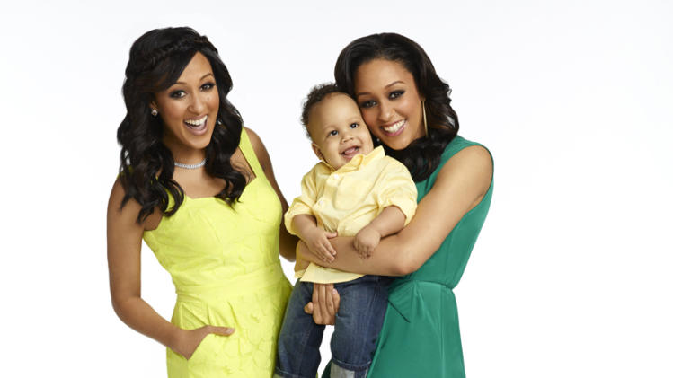 "Tamera, Cree, and Tia in ""Tia & Tamera."""