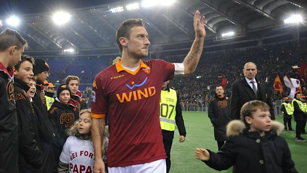 2013, Francesco Totti of Roma